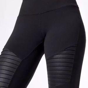 Alo Yoga Very High Waist Moto Leggings NWT